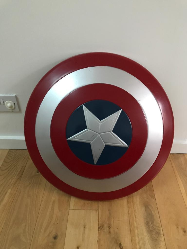 Xl Captain America Shield Marvel Approx 55cm In West End Glasgow Gumtree