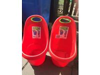 Kids storage carts