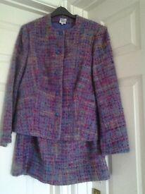 Lady's two piece woollen suit Size 16