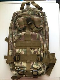 Camouflage BackPack (Brand new)