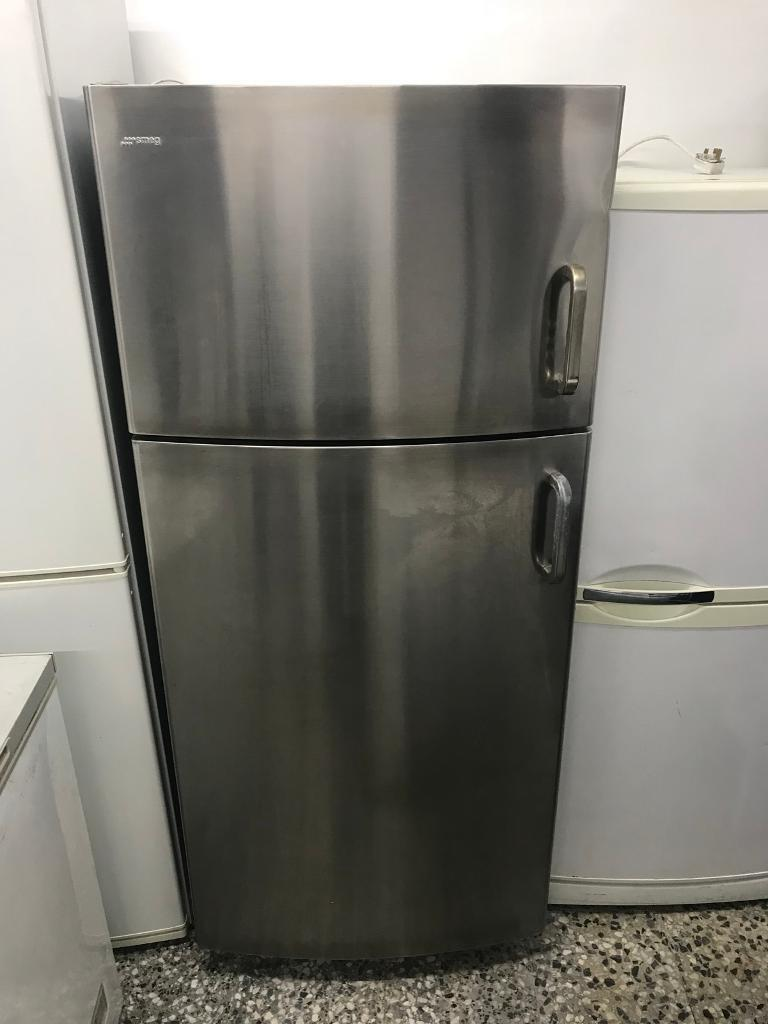 Smeg amarican fridge freezer stenli still full working 4 month warranty free delivery