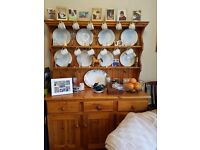 Welsh dresser good condition selling as downsizing furnture