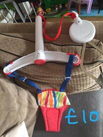 Baby bouncer, teddy floor gym, baby stand gym, baby cuddle seat