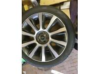 "Genuine Range Rover 21"" Wheels"