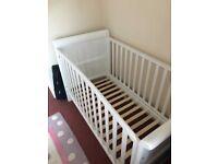 Toys R Us Cot Bed. L153cm X W77cm X H95