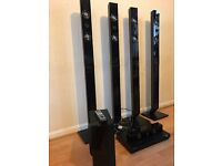 SAMSUNG SURAUND HOME CINEMA WITH 5 SPEAKERS AND SUBWOOFER