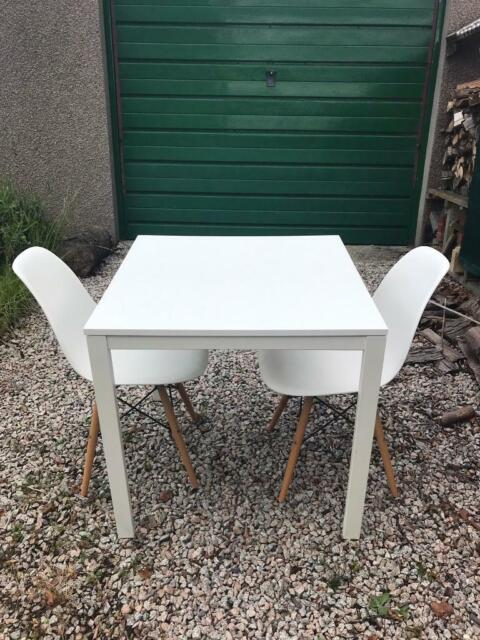 Small White Dining Table And 2 Chairs In Alford Aberdeenshire Gumtree