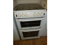 Belling Freestanding 55 cm wide Gas Cooker with Glass Lid