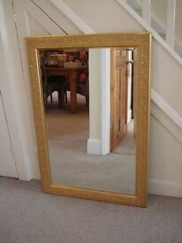 Large Mirror with Bevelled Glass 73.5cm x 106cm