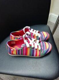 Ladies Rocket Dog Canvas Shoes