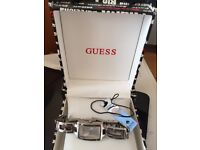 ladies Guess stainless steel watch in box