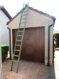 TALL WOODEN LADDER, MUST SELL !