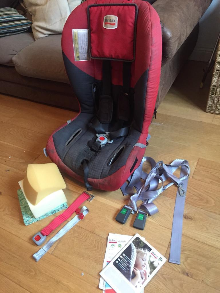 Britax Two Way Elite Rear Facing And Spica Cast Car Seat