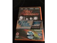 The fast and furious dvd