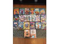 KIDS DVD BUNDLE - MICKEY MOUSE, IN THE NIGHTGARDEN, THOMAS THE TANK, SPIDERMAN