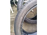 255/35-18 225/40-18 BMW Audi Ford Volvo Toyota Mercedes Nissan tyre tyres x2 pair michelin 255 35 40