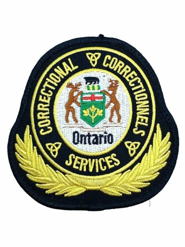 Canadian Correctional Services Ontario Patch