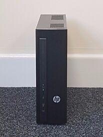 HP Slimline Desktop PC / Computer - HP slimline 450 a160na