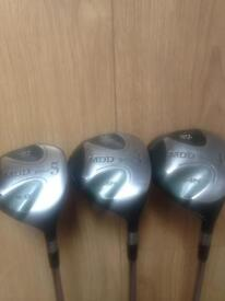 MDD golf clubs 3 woods