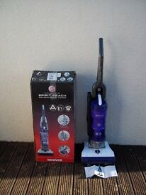 HOOVER SPIRIT REACH TP71 UPRIGHT BAGLESS VACUUM CLEANER COMPLETE NEW