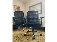 Black Mesh Ergonomic Office Desk Study Swivel chair