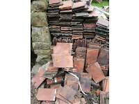 Reclaimed Sandstorm Red Clay Roof Tiles - 1500+