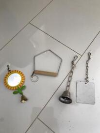 Budgie/bird cage accessories