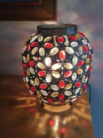 Red Jewelled Lamp