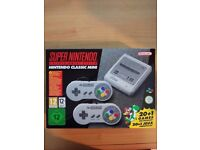 SNES Mini, Brand new & Sealed