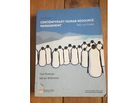 Contemporary Human Resource Management Book. By Redman & Wilkinson