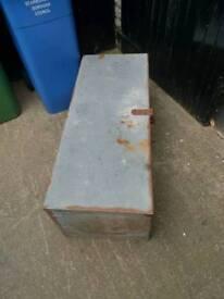 Van vault storage container
