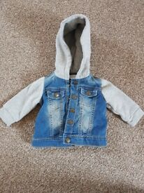Baby boys 0-3 months coats/jackets