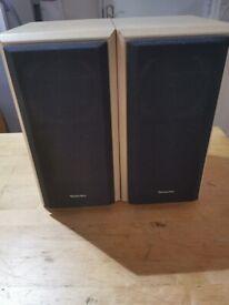 TECHNICS 2 WAY SPEAKER SYSTEM SB-HD310 Great Sound 60W