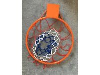 Basketball/Netball Hoop For Wall
