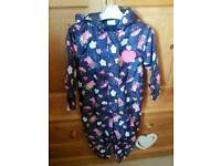 Peppa pig splash suit 4-5y