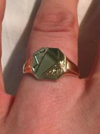 Gents 9ct Gold ring