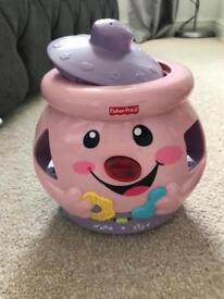 Fisher price cookie jar shape sorter