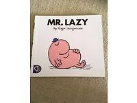 Mr Men - Mr Lazy £1.00