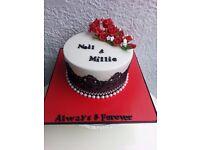 Bespoke wedding cake, birthday cake cupcakes and chocolate