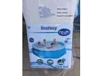 8ft bestway fastset pool brand new