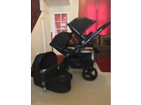 iCandy Peach 3 Jet Double Pram Pushchair CAN POST
