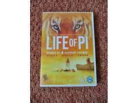 Life of PI DVD Suvraj Sharma Ang Lee 2013 Based on the Book by Yann Martel