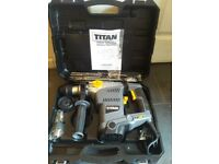 Titan 1500W SDS PLUS Rotary Hammer. New