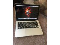 Macbook pro 13.3 mid 2012, i5, 2.5ghz