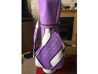 Trilby tour as new golf bag