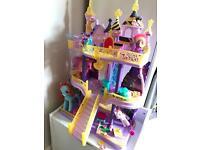 2 x My Little Pony castles