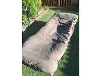 Chubb Cloud 9 bedchair and Cloud 9 5 season sleeping bag