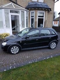 £1495 NEW PRICE !!! LOW LOW MILES CORSA SXi,5dr,black/black,mot,43000mls with perfect history,1owner