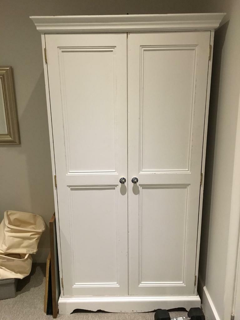 Pine wardrobe - FREE to a good home, must collect today (Sunday)