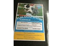 Blue Cross fun dog show and stalls